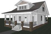 Craftsman Style House Plan - 3 Beds 2.5 Baths 1932 Sq/Ft Plan #461-18