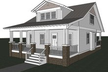 Craftsman Exterior - Other Elevation Plan #461-18