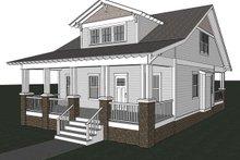 Home Plan - Craftsman Exterior - Other Elevation Plan #461-18