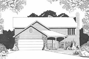 Traditional Exterior - Front Elevation Plan #58-101