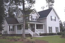 House Plan Design - Country Exterior - Front Elevation Plan #20-162