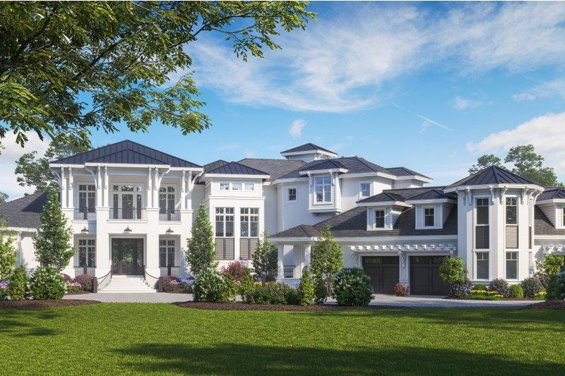 House Plan Design - Contemporary Exterior - Front Elevation Plan #27-573