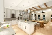 Farmhouse Style House Plan - 3 Beds 2 Baths 2252 Sq/Ft Plan #406-9653 Interior - Kitchen