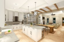 Architectural House Design - Farmhouse Interior - Kitchen Plan #406-9653