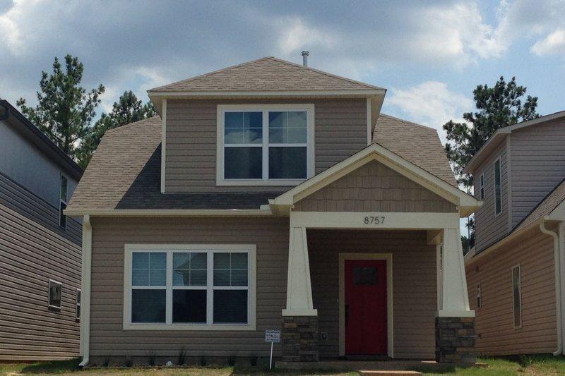 Home Plan - Craftsman Exterior - Front Elevation Plan #932-249