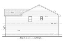 Architectural House Design - Traditional Exterior - Other Elevation Plan #20-2432