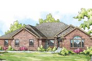 Ranch Style House Plan - 3 Beds 2.5 Baths 2876 Sq/Ft Plan #124-834
