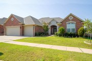 European Style House Plan - 4 Beds 3 Baths 2326 Sq/Ft Plan #65-411 Exterior - Front Elevation