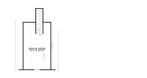European Floor Plan - Upper Floor Plan #17-2378