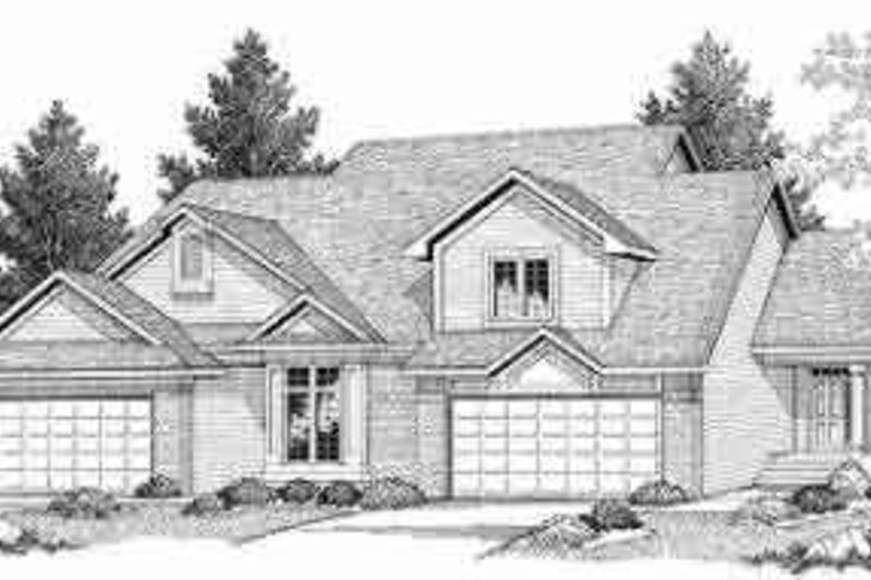 Dream House Plan - Traditional Exterior - Front Elevation Plan #70-654