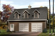 Country Style House Plan - 0 Beds 0 Baths 1065 Sq/Ft Plan #22-419 Exterior - Other Elevation