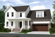 Architectural House Design - Farmhouse Exterior - Front Elevation Plan #1071-6