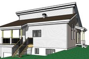 Cottage Style House Plan - 3 Beds 2 Baths 2085 Sq/Ft Plan #23-2713 Exterior - Other Elevation