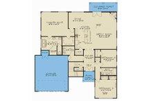 Contemporary Floor Plan - Main Floor Plan Plan #923-55