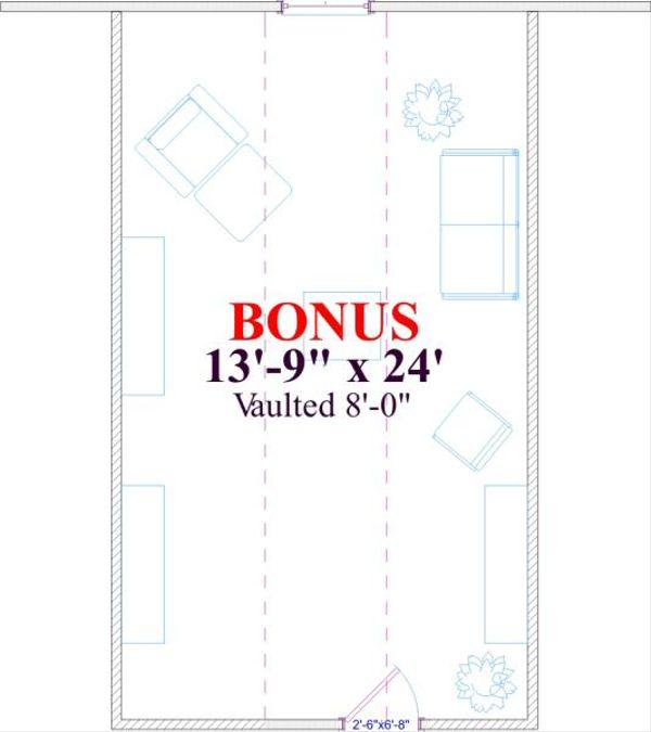 Farmhouse Floor Plan - Other Floor Plan Plan #63-135