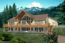 Traditional Exterior - Front Elevation Plan #117-339