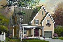 Dream House Plan - Farmhouse Exterior - Front Elevation Plan #23-720