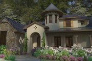European Style House Plan - 3 Beds 3.5 Baths 3230 Sq/Ft Plan #120-185 Exterior - Other Elevation