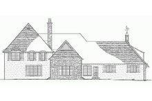 Architectural House Design - European Exterior - Rear Elevation Plan #137-232