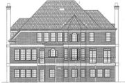 Classical Style House Plan - 4 Beds 3.5 Baths 3169 Sq/Ft Plan #119-139