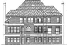 Classical Exterior - Other Elevation Plan #119-139