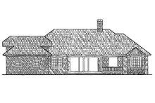 House Plan Design - Ranch Exterior - Rear Elevation Plan #930-245
