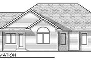 Country Style House Plan - 3 Beds 2 Baths 1734 Sq/Ft Plan #70-930 Exterior - Rear Elevation