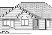 Architectural House Design - Country Exterior - Rear Elevation Plan #70-930