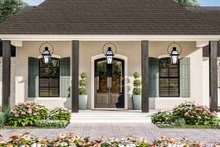 Dream House Plan - Traditional Exterior - Covered Porch Plan #406-9664
