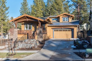 Craftsman Exterior - Front Elevation Plan #895-45