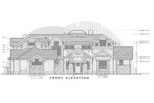 Architectural House Design - Craftsman Exterior - Front Elevation Plan #892-27