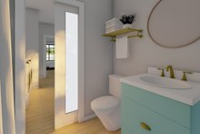 Architectural House Design - Farmhouse Interior - Bathroom Plan #126-234