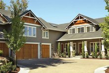 Dream House Plan - Craftsman Exterior - Front Elevation Plan #48-148
