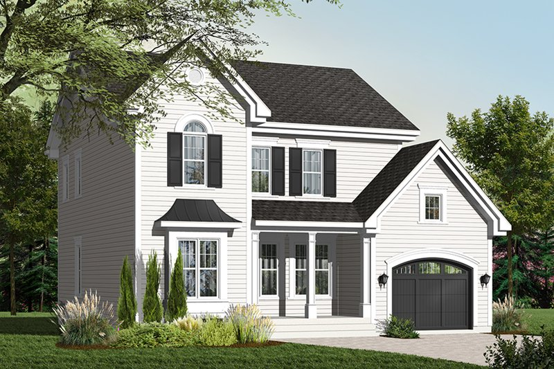 Farmhouse Exterior - Front Elevation Plan #23-2257