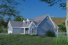 House Plan Design - Traditional Exterior - Other Elevation Plan #923-177