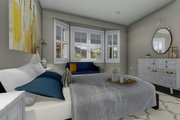 Ranch Style House Plan - 2 Beds 2 Baths 1767 Sq/Ft Plan #1060-2 Interior - Master Bedroom