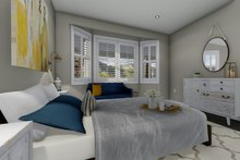 House Plan Design - Ranch Interior - Master Bedroom Plan #1060-2