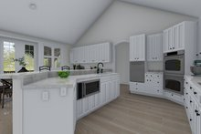 Traditional Interior - Kitchen Plan #1060-61