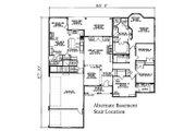 European Style House Plan - 4 Beds 3 Baths 2405 Sq/Ft Plan #17-2060 Floor Plan - Other Floor Plan