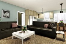Home Plan - Farmhouse Interior - Family Room Plan #44-227