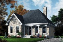 House Design - Traditional Exterior - Front Elevation Plan #23-474