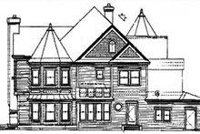 Dream House Plan - Victorian Exterior - Rear Elevation Plan #320-295