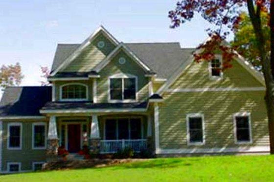 Craftsman Exterior - Front Elevation Plan #49-111