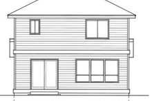 Traditional Exterior - Rear Elevation Plan #94-203