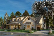 Craftsman Style House Plan - 4 Beds 2.5 Baths 2343 Sq/Ft Plan #923-175 Exterior - Other Elevation