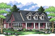 Traditional Style House Plan - 3 Beds 2 Baths 1961 Sq/Ft Plan #51-352 Exterior - Front Elevation