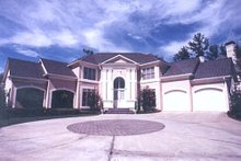 Home Plan - Classical Exterior - Other Elevation Plan #119-111
