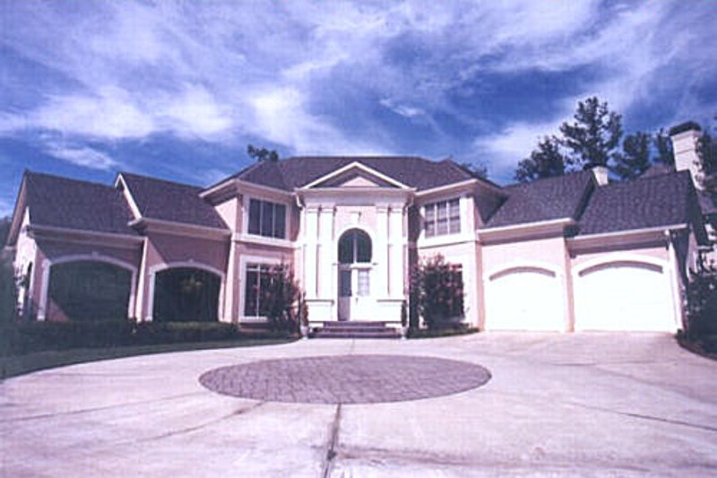 Classical Exterior - Other Elevation Plan #119-111 - Houseplans.com