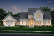 Farmhouse Style House Plan - 4 Beds 3.5 Baths 3145 Sq/Ft Plan #430-248