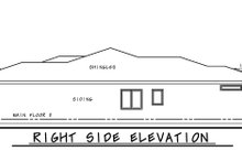 Architectural House Design - Contemporary Exterior - Other Elevation Plan #20-2439